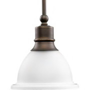 Progress Lighting™ - Fixture - Mini Pendant 1-100w Medium  P5078-20
