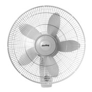 AirKing® - Fan - 18-Inch Wall Mounted Oscillating Fan That Offers Rotary Knob-pull Cord Speed Control and Variable Oscillation Quiet