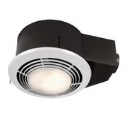 Broan® - Ceiling Heat Vent - 70 Cfm Round Ceiling Heat Vent Light