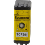 Cooper Bussmann® - Fuse - 300 Vdc, 600 Vac, 25 Amp, Time Delay General Purpose Fuse  TCF25