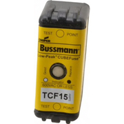 Cooper Bussmann® - Fuse - 300 Vdc, 600 Vac, 15 Amp, Time Delay General Purpose Fuse  TCF15