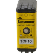 Cooper Bussmann® - Fuse - 300 Vdc, 600 Vac, 10 Amp, Time Delay General Purpose Fuse  TCF10