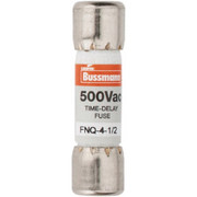 Cooper Bussmann® - Fuse - 500 Vac, 4.5 Amp, Time Delay General Purpose Fuse
