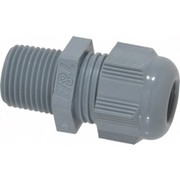 "Thomas & Betts - Conduit Fittings - 3/8"" Trade, Nylon Threaded Straight Liquidtight Conduit Cable Gland - CA of 6"