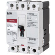 Eaton® - Circuit Breaker - 70 Amp, 250 Vdc, 480 Vac, 3 Pole, Molded Case Circuit Breaker
