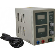 Extech - Power Supplies - 54 Watt, 3 Amp, 18 Vdc Output, Benchtop Power Supply