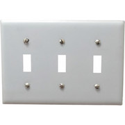 HUBBELL® - Wall Plate - 3 Gang, Switch Plate