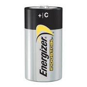 Energizer® - Batteries - Eveready® 1.5 Volt C Alkaline Battery with Flat Contact Terminal - CA of 24