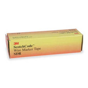 "3M™ - Wire Marker - Tape Refill - ScotchCode™ 8' l x 0.215"" w, Polyester Film, Preprinted Tape Refills - PK of 10  SDR-0-9"