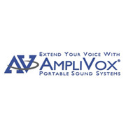 Amplivox® - Acrylic Steel Post Ltrn -Clear Surface