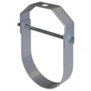 """FNW™ - 1-2"""" Plated Adjustable Standard Clevis Hanger in Silver"""