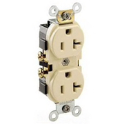 Leviton - Electrical Switch - Sdwrd Narrow Body DUP Receptacle Ivory