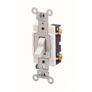 Leviton - Electrical Switch - 20A 1 Pole Switch White