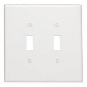 Leviton - Switch - 2 Gang Device Receptacle Wall Plate Oversize