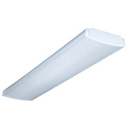 "Lithonia Lighting - Fixture - 48"" 64w 2-Light Multi-Volt Electronic Ballast in White"