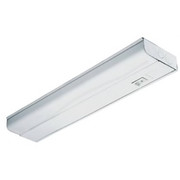 Lithonia Lighting - Fixture - 15w 1-Light Under-Counter Fixture with Rocker Switch in White
