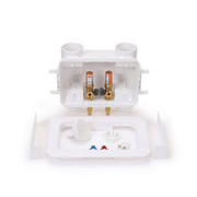"""Oatey® - Supply Box - 1-4"""" Copper Washing Machine Outlet Box with Hammer"""
