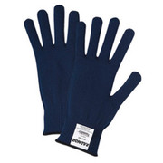 Radnor® - Gloves - Large Natural Medium Weight Cotton Ambidextrous String with Knit Wrist - CA of 25 PR