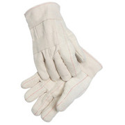 Radnor® - Gloves - Large Gray Medium Weight Polyester-Cotton Ambidextrous String with Knit Wrist - CA of 50 PR