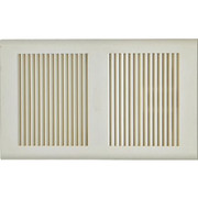 Broan® - Exhaust Fan Grille - Fan Grille in White