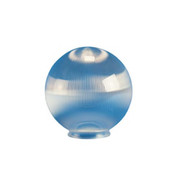"Crown Plastics - Fixture Parts - 6"" Necked Acrylic Globe Shade in Clear"