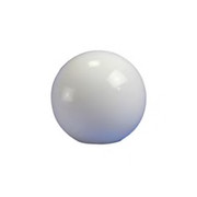 "Crown Plastics - Fixture Parts - 12"" Flush Fitter Acrylic Globe Shade in White"