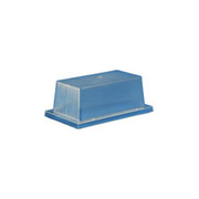"Crown Plastics - Fixture Parts - 10-1/2"" Acrylic Security Enclosure in Clear"