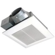 Panasonic - Ceiling Exhaust Fan - 100 Cfm Ceiling Or Wall Mount Fan