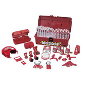 IDEAL® - Electrical Lockout Or Tagout Kit - Plastic Industrial Lockout Or Tagout Kit