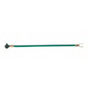 IDEAL® - Electrical - Jumper with Ring, Screw and Fork in Green (25 Per Bag)