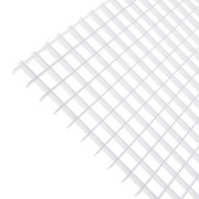 "Plaskolite - Lighting Panels - 23-3/4"" Egg Crate Styrene Louver Shade in White - PK of 5"