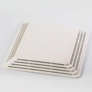 "Broan® - Bathroom Vent Fan - 11-1/8"" Plastic Grille with Spring"