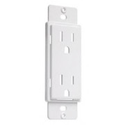 HUBBELL® - Receptacle Cover - Cover Up Wall Plate in White