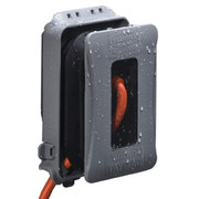 Other Manufacturers - Receptacle Cover - 1-Gang Plastic and Rubber Expandable While in Use Cover in Grey