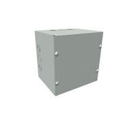 "Wiegmann® - Junction Box - 18-1/8 x 12-1/8 x 6-3/16 "" Pre-Galvanized Steel and Plastic Screw Cover Pull Box Enclosure - Beige"