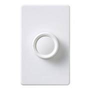 Lutron Electronics - Receptacle Replacement Knob - Dimmer Replacement Knob in White