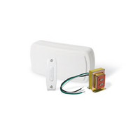 Broan® - Door Chime - White 1 Button Chime Kit