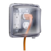 Taymac® - Receptacle Cover - 2 Gang 55 in 1 in-Use Cover