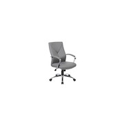 Boss® - Chair - Faux Leather High-Back Chair - Chair, Executive, Leather, 27 x 29 x 41, Gray