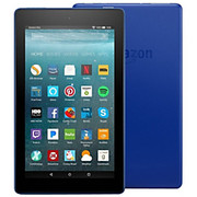 """Amazon - Tablet - Fire 7 Tablet - 7"""" - 1 GB Quad-Core (4 Core) 1.30 Ghz - 16 GB - Fire OS 5 - 1024 x 600 - in-Plane Switching (Ips) Technology - Marine Blue"""