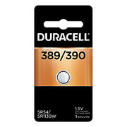 Duracell® - Battery - 1.5 Volt Silver Oxide Watch Battery - Calc/wtch, 1.5v, Silver Ox - Battery, Calc/wtch, 1.5v, Silver Ox - CA of 6