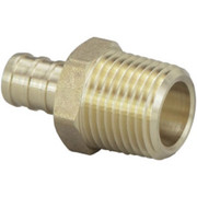 """Viega - Adapter - 1/2"""" Brass PEX Crimp Male National Pipe Thread Adapter - CA of 6"""