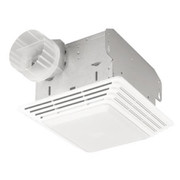 Broan® - Bathroom Fan - 50 CFM Exhaust Fan-Light White