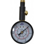 Acme - Tire Pressure Gauge - 0-100 PSI Gp W/ Bleed Acme Dial Tire Gauge