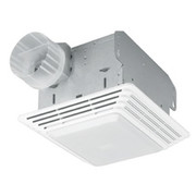 Broan® - Bathroom Fan - 80 CFM Commercial Fan/Light 2.5 Sone