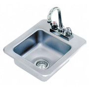 """Advance Tabco® - Service Sink - 9"""" x 9"""" x 5"""" - 1 Compartment Drop in Sink"""