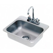 """Advance Tabco® - Service Sink - 14"""" x 10"""" x 5"""" - 1 Compartment Drop in Sink"""