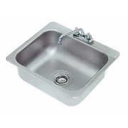 """Advance Tabco® - Service Sink - 20"""" x 16 x 8"""" - 1 Compartment Drop in Sink"""