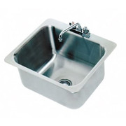 """Advance Tabco® - Service Sink - 20"""" x 16 x 12"""" - 1 Compartment Drop in Sink"""