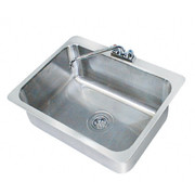 """Advance Tabco® - Service Sink - 28"""" x 20"""" x 12"""" - 1 Compartment Drop in Sink"""